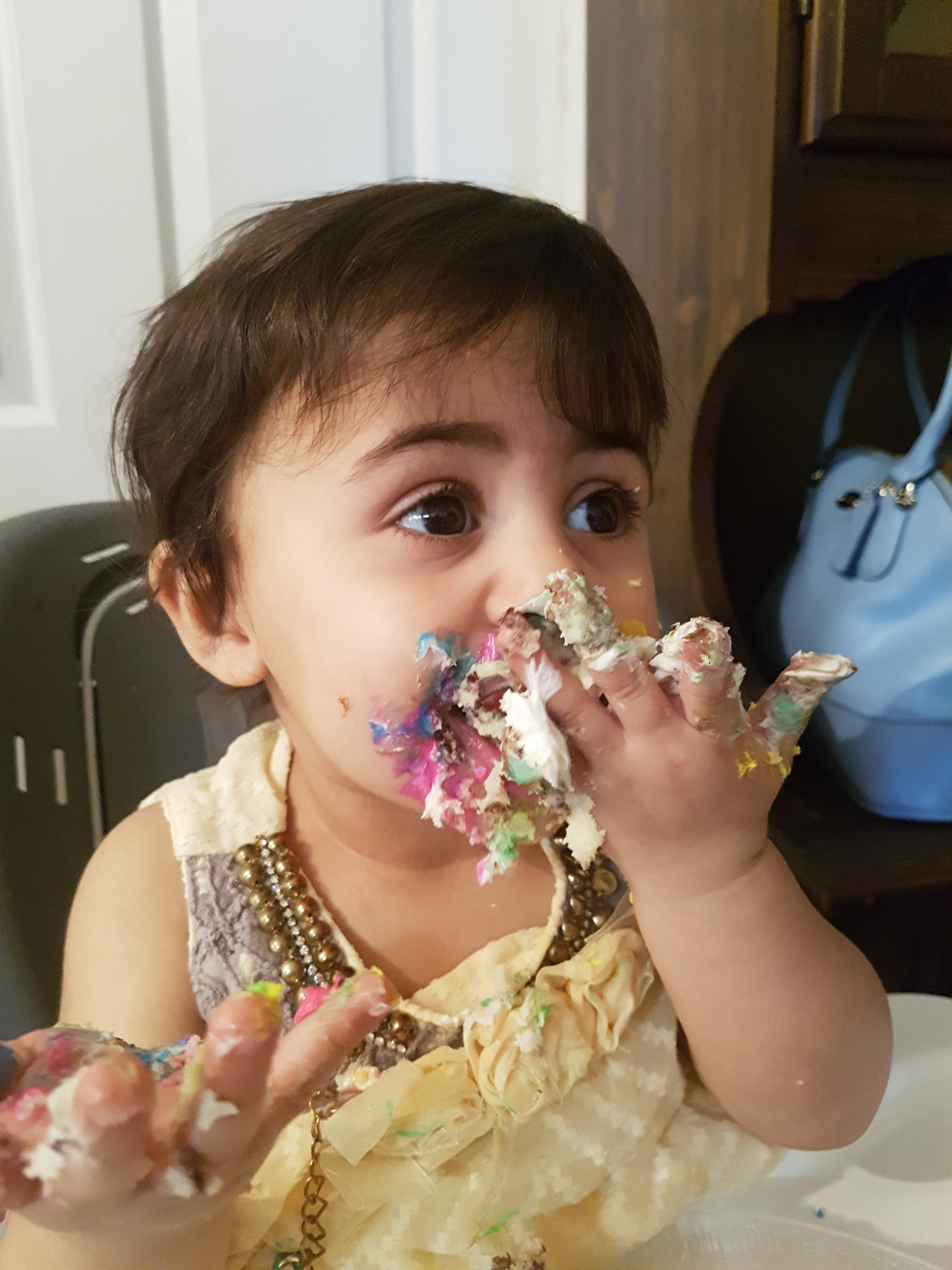 Layan, 20 months
