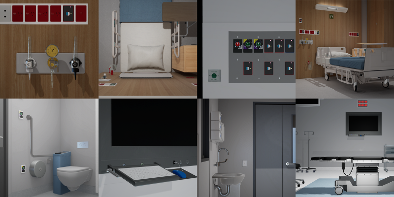 Situational learning is enhanced by VR, enabling students to participate in learning experiences that would otherwise be difficult to reproduce, such as complex surgical procedures. These environments can also be used for user testing and onboarding. BVN is currently designing major hospitals and research environments around Australia which we draw on for virtual models.