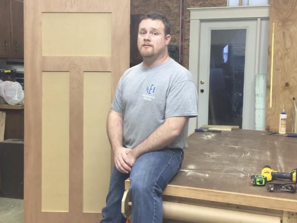 How to Build a Custom Interior Door!