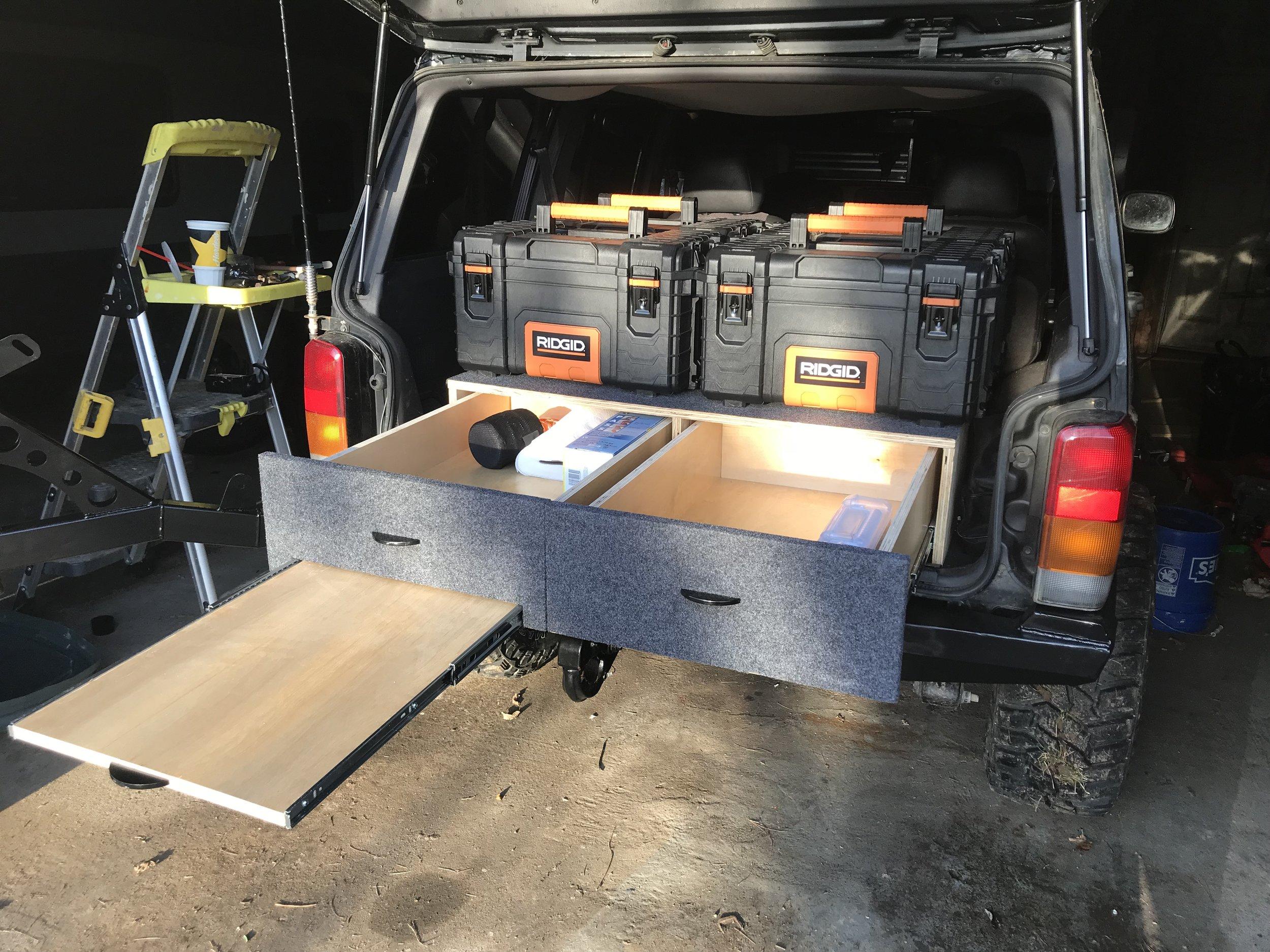 Overland Drawer System Build!