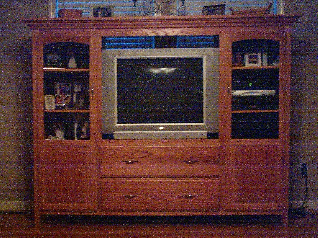 An Oak Living Room Suite I built!