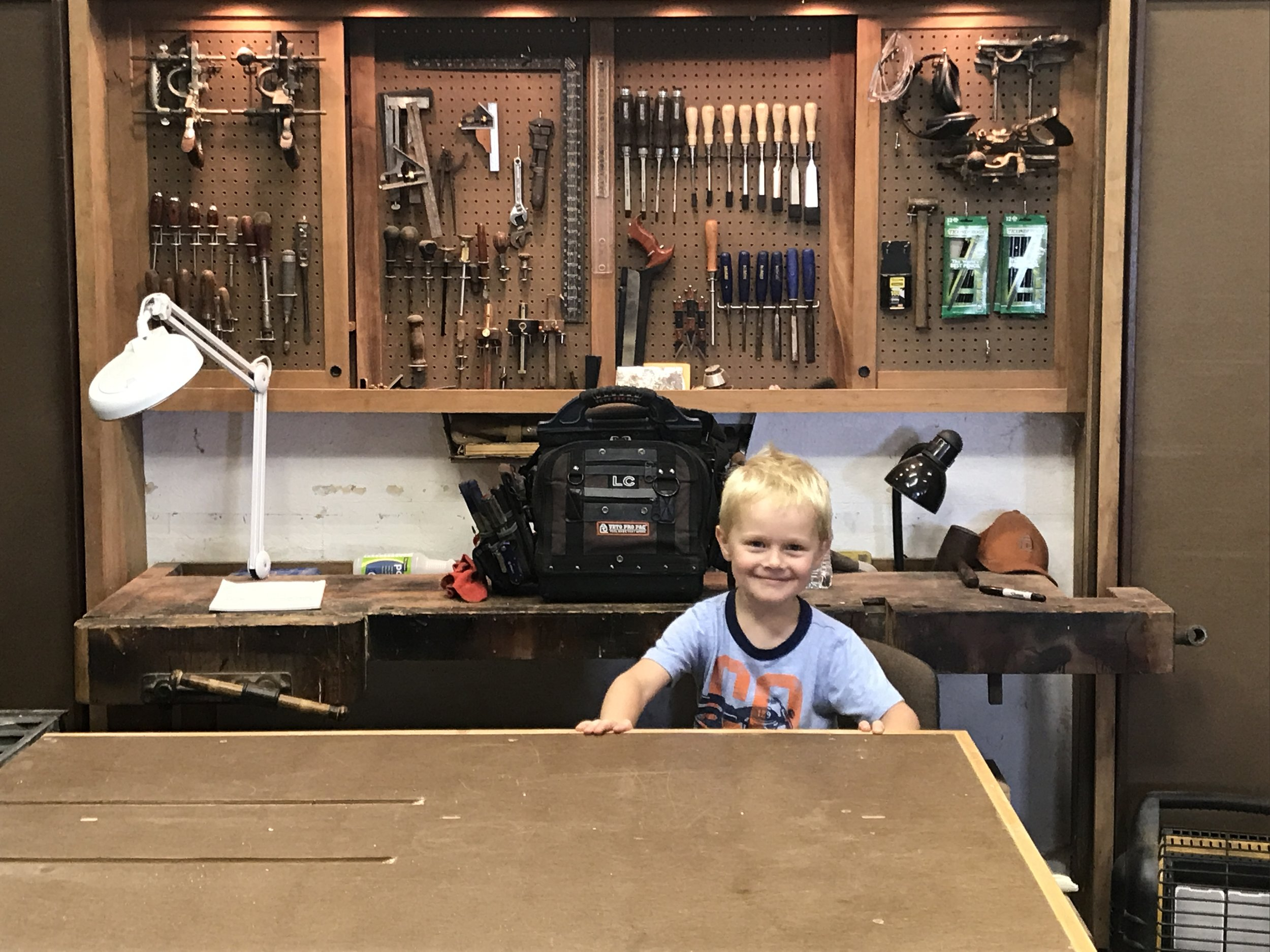 A Tool Wall with a Twist!