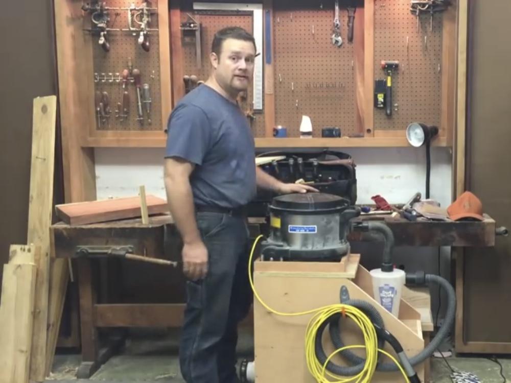Dust Deputy Vacuum Cart Build!