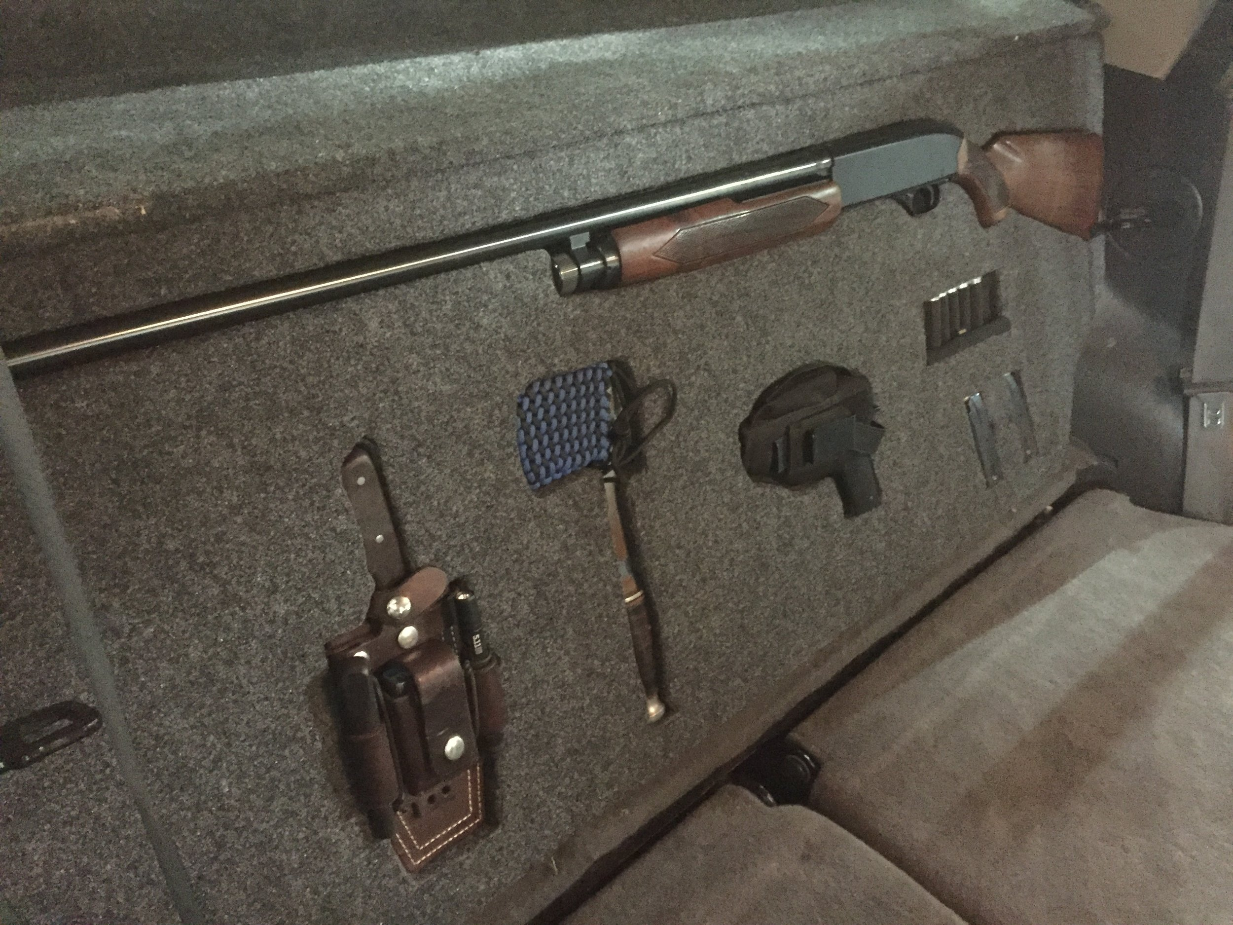 Building a Concealed Vehicle Storage System!