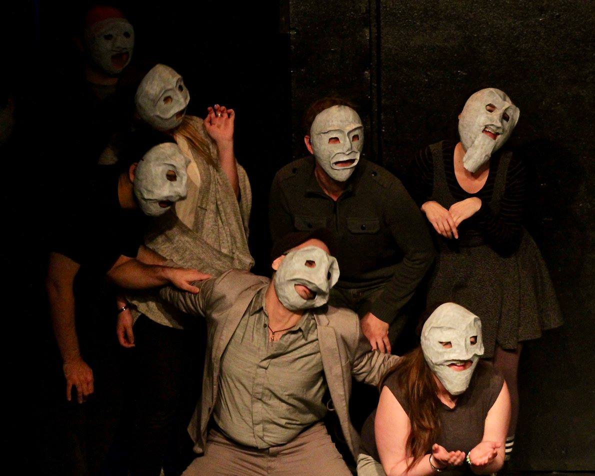 "THE GREEK CHORUS in ""A Chorus* Shotz (*Greek)"""