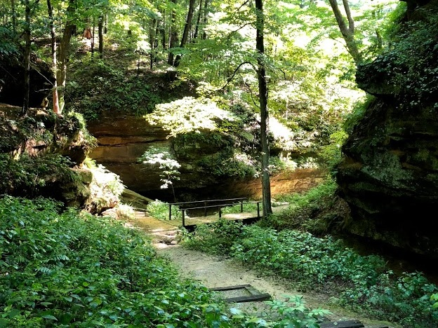 Wildcat Den State Park - A small but mighty state park located in Muscatine near the Mississippi River