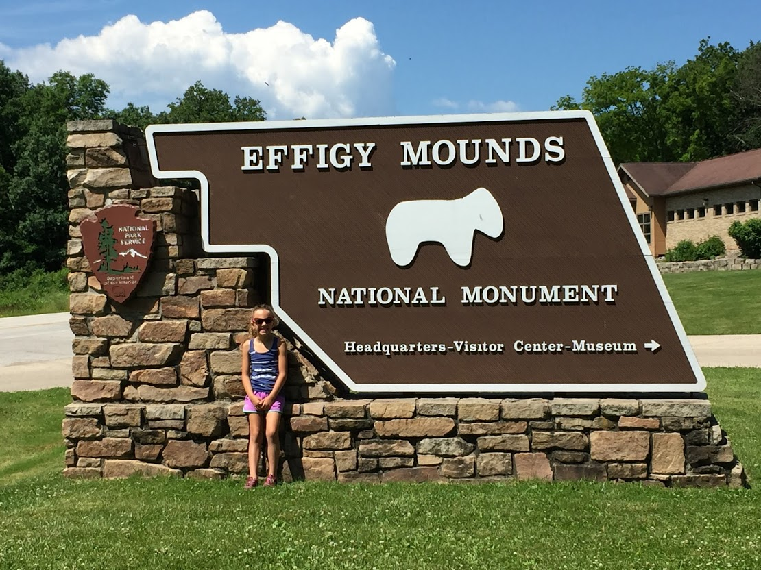 Effigy Mounds National Monument - Iowa's only national monument, with over 200 Native American mounds