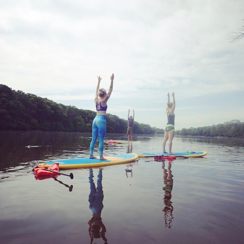 Gentle SUP Yoga -