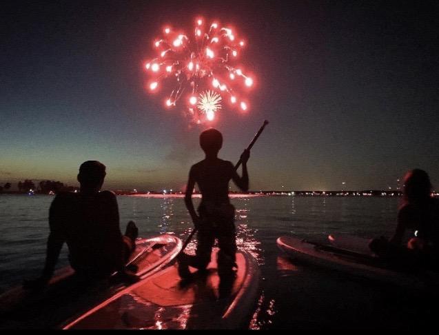 Fireworks Paddle -