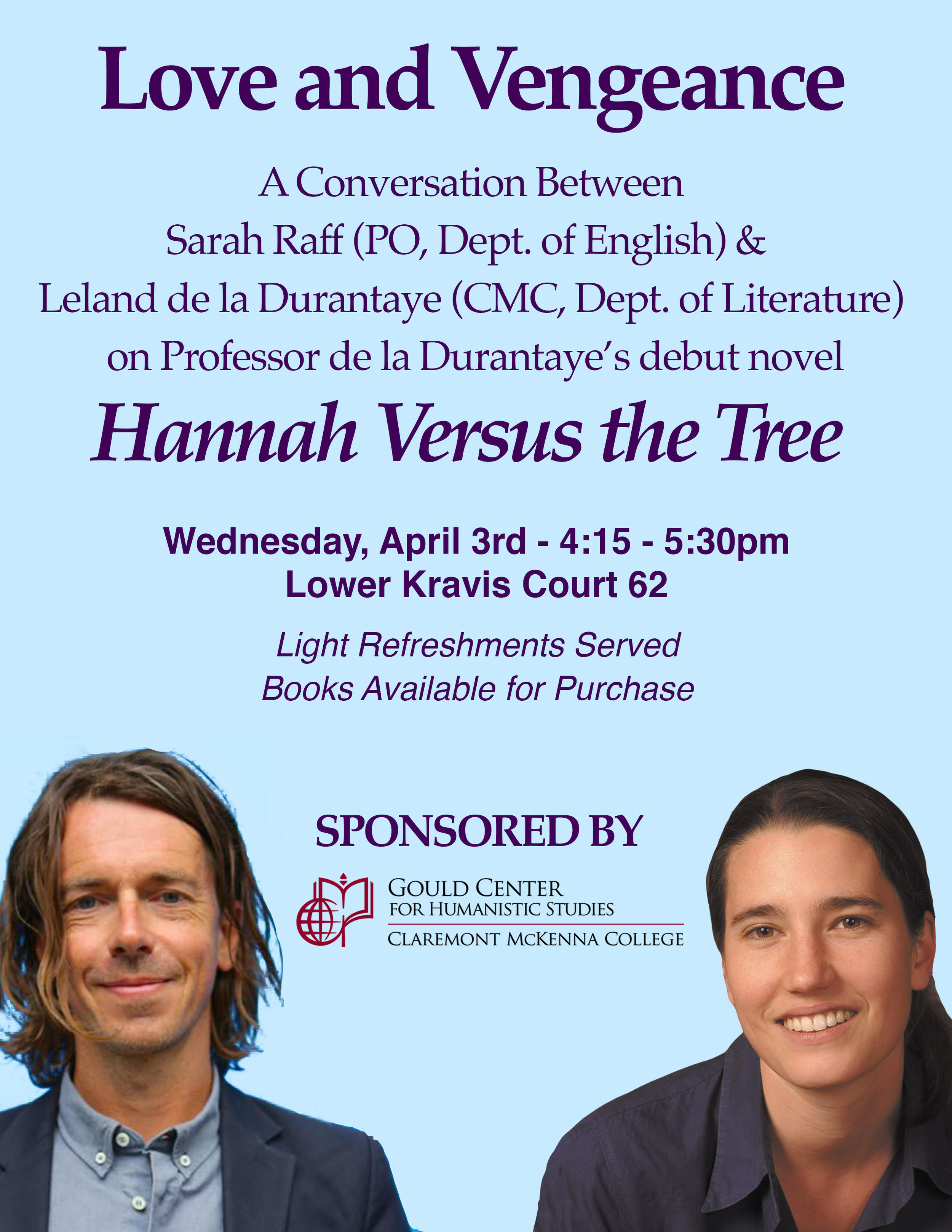 Events — The Gould Center for Humanistic Studies