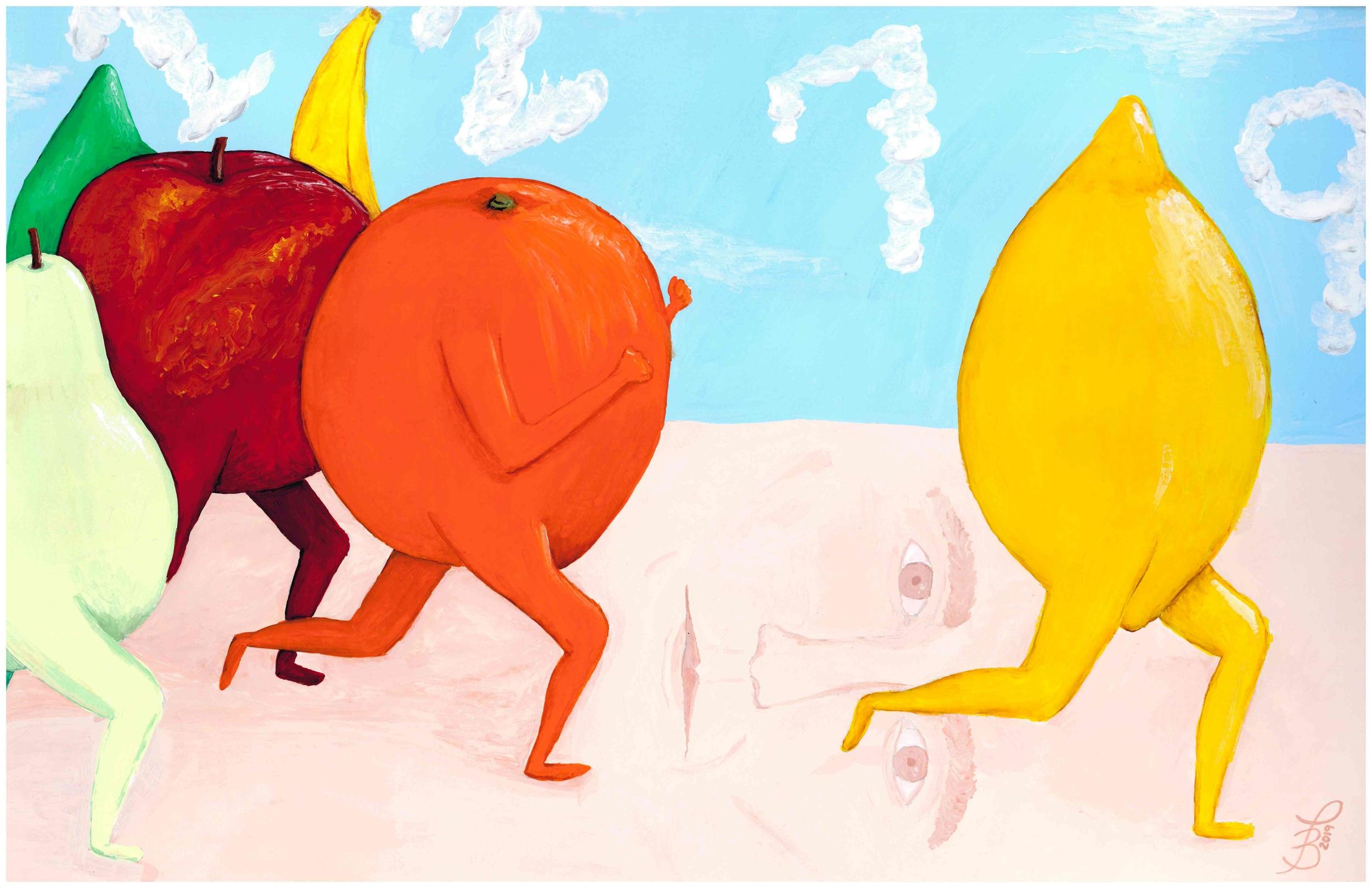 The Origin Story (of Gerald the Lemon) Poster II | 2019