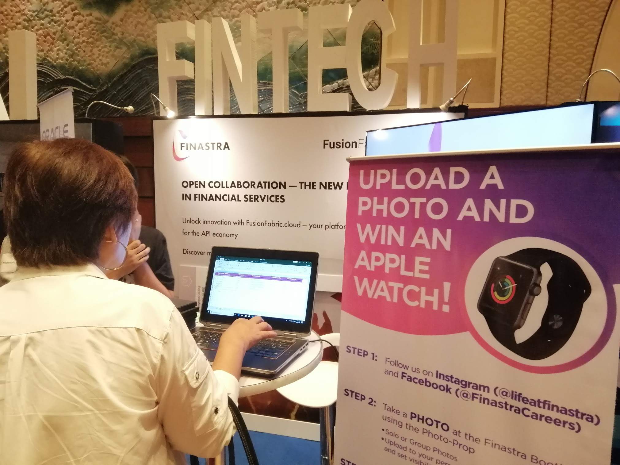 12:26 p.m. - Take part in Finastra's raffle!