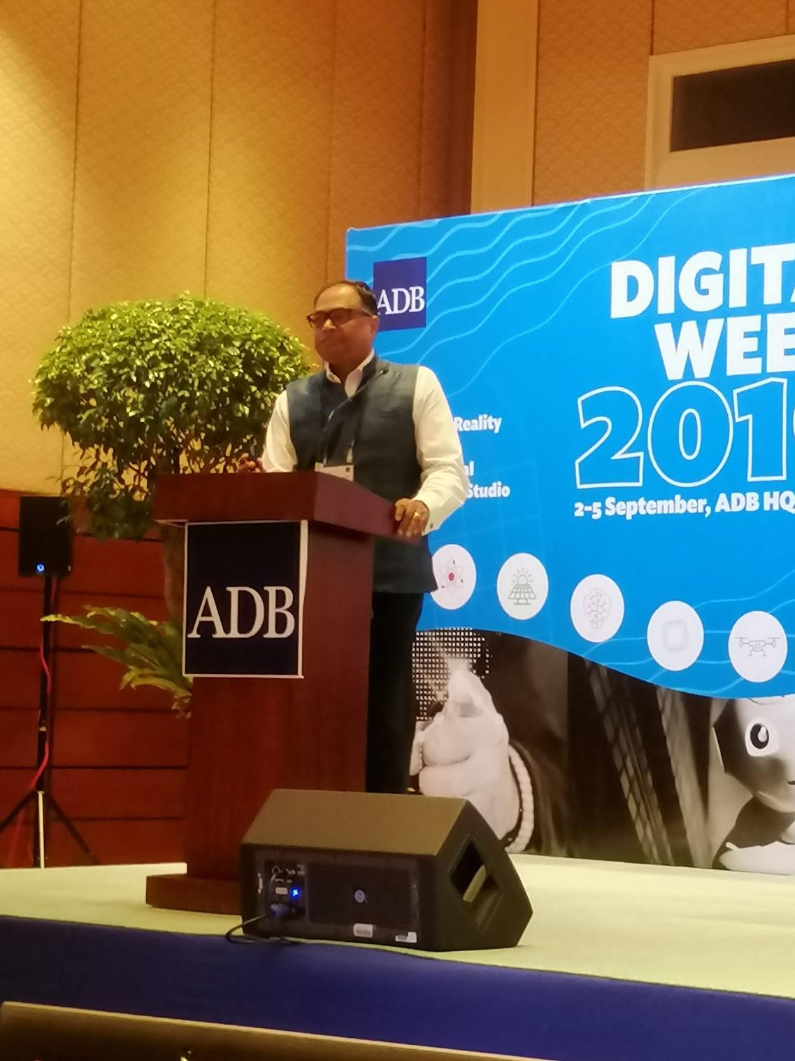 9:06 a.m. - Happening now: Digital 2030: Digital Transformation Deep Dive. Introduction by Ram Lakshminarayanan, Partner at KPMG Singapore.