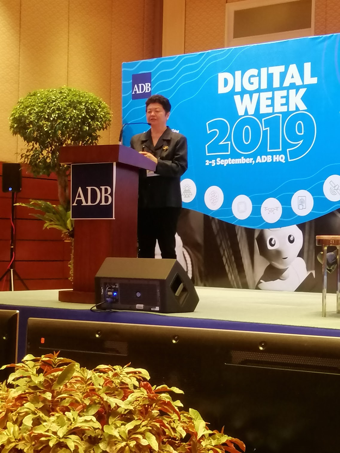 """10:45 a.m. - """"We need to think more deeply about the digital skills that the bank needs.""""Ma. Carmen Testa, Adjunct Faculty and Interim Head, School of Executive Education of the Asian Institute of Management discusses Digital Skills."""