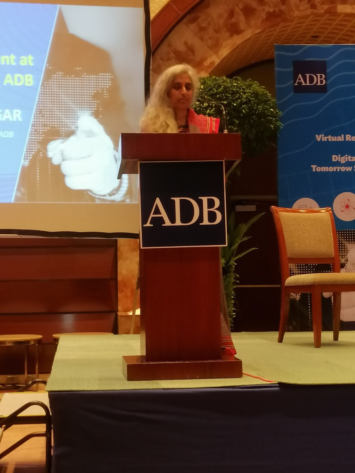 3:55 p.m. - The next Future Stories from ADB brings Kavita Iyengar, SARD, to the floor to talk about the knowledge management action plan.
