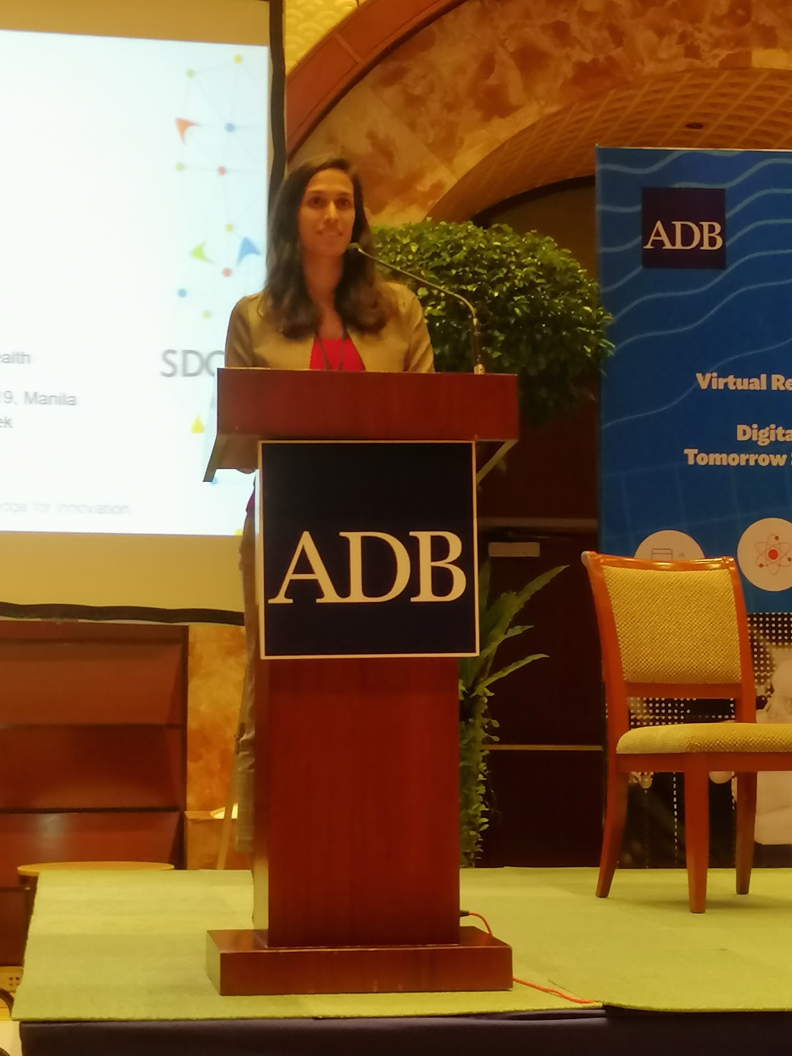 """4:01 p.m. - """"What is important is assessing what value these solutions bring to health.""""For the next Future Stories from ADB, Kirthi Ramesh, SDCC, tackles Digital Health Systems"""