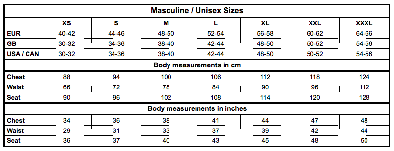 Dale of Norway Unisex - This chart helps you find your size when shopping for masculine sweaters or jackets from Dale of Norway