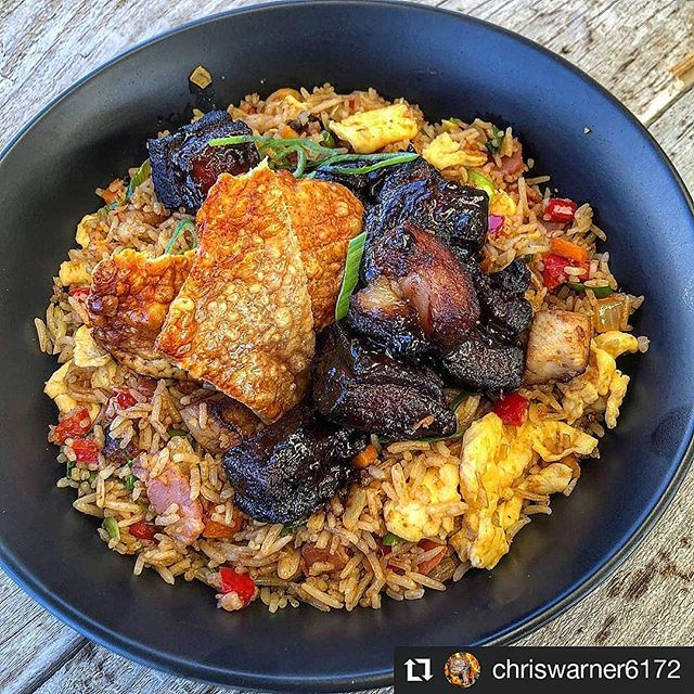 There are a thousand ways to bring a taste of the Australian bush to your plate with our raw smoked honey, no matter what the cuisine... And how good is this one! 🍲🍽 @chriswarner6172 bringing the goods! Pork belly fried rice with smoked honey 🤤  #Repost @chriswarner6172 • • • • • • #friedrice #porkbelly #porkbellyburntends #bbq #bbqlife #barbecue #barbeque #perthbbq #ribracksbbq #fireworksandsmoke #pitmaster #smoked #smokedmeat #tasty #yum #food #foodblogger #foodie