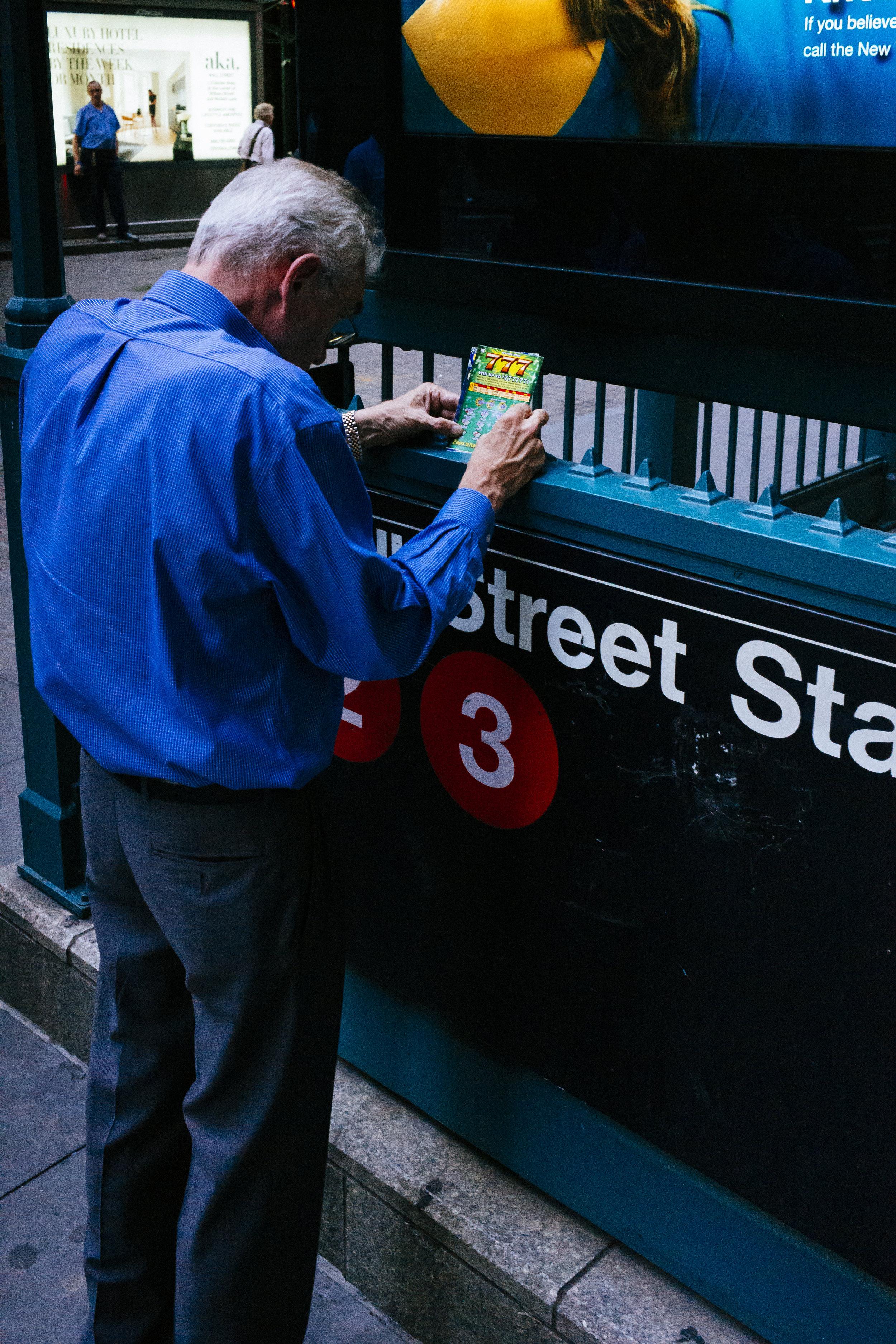 Wall Street, NYC - 2018