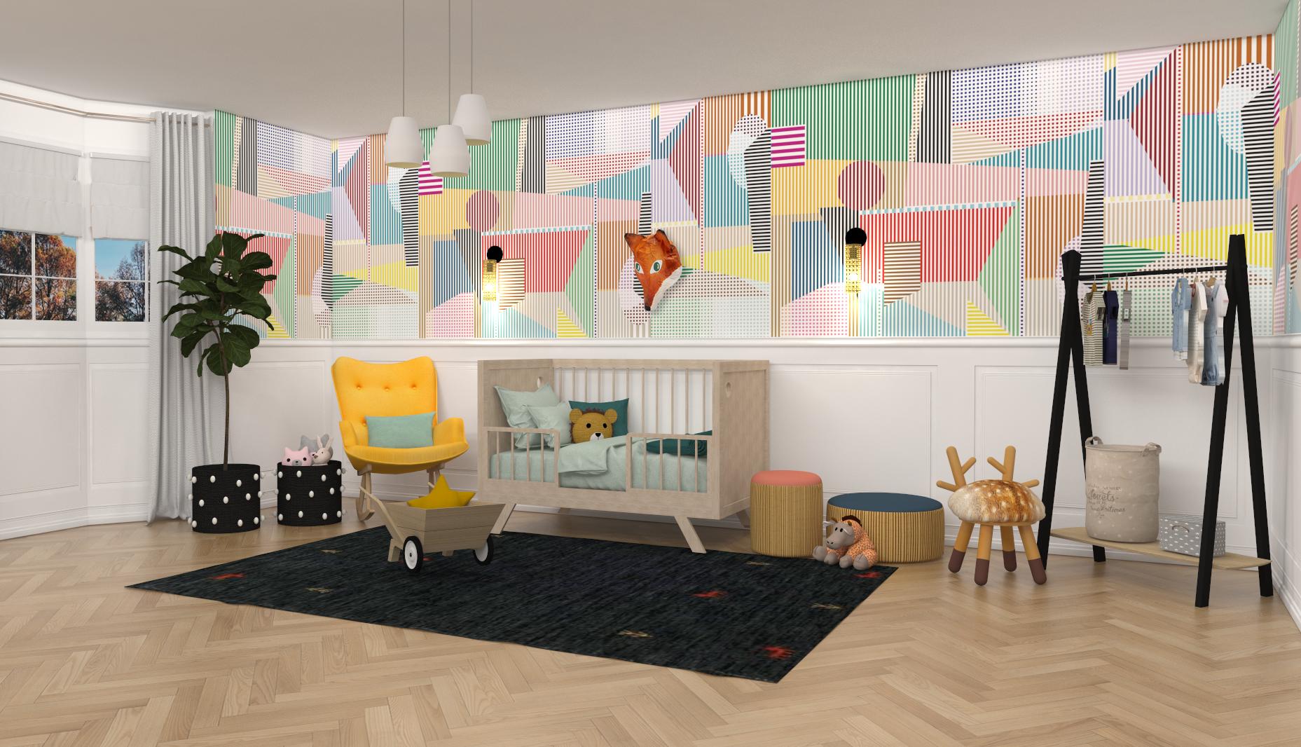Contemporary Baby Nursery