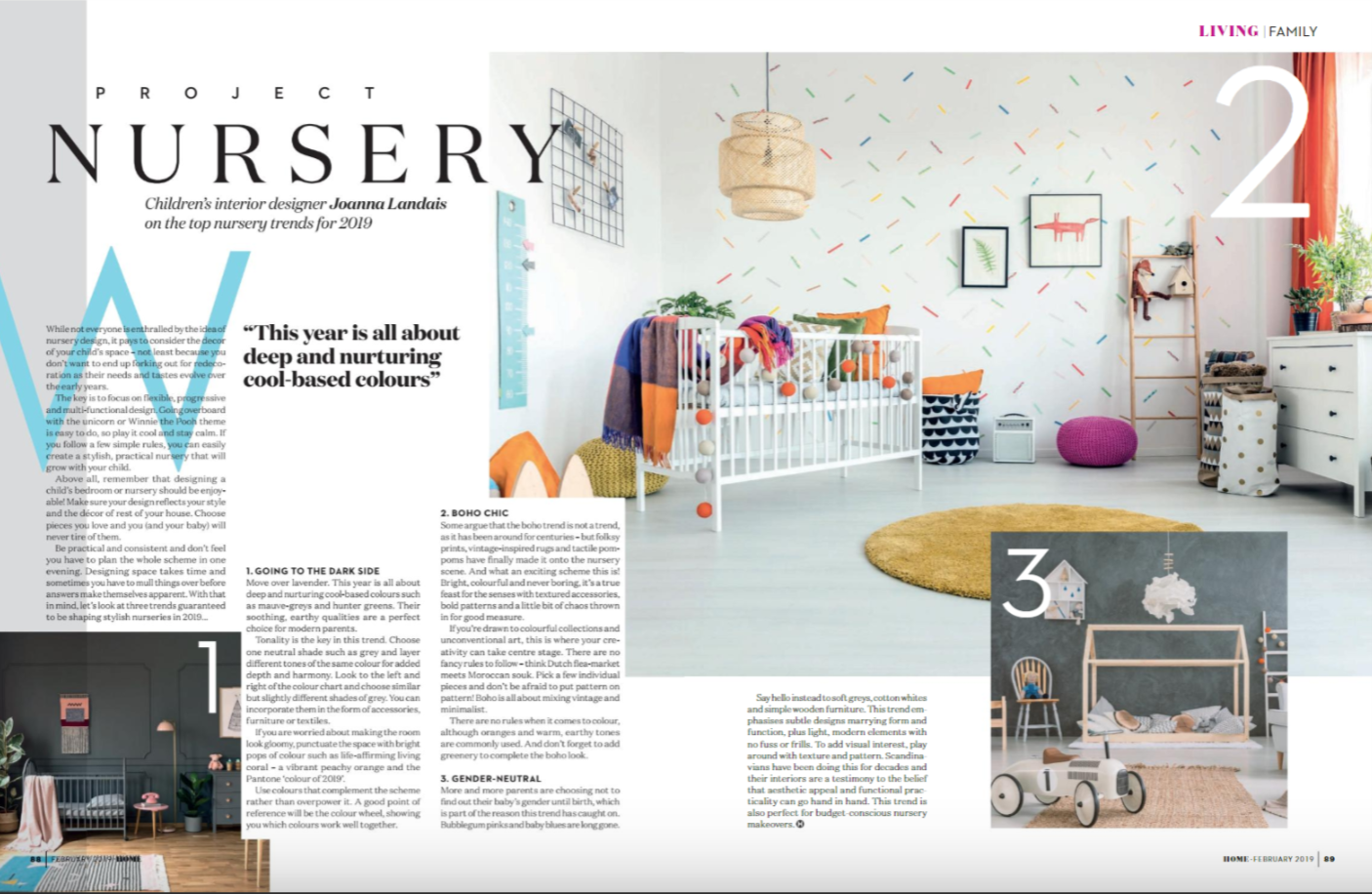 Nursery Design Trends in 2019: Absolutely Mama