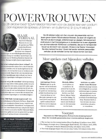 powervrouwen - Op 28 oktober biedt TEDxAmsterdam voor de zesde keer een podium aan inspirerende sprekers uit binnen- en buitenland. En jij kunt erbij zijn!