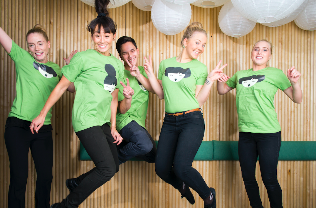 JOBBA MED OSS - JOIN THE HAPPY HEALTHY TEAM!