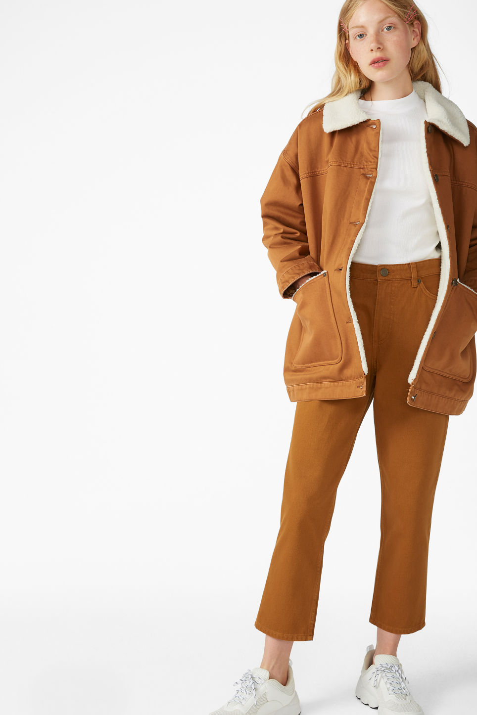 Monki Lined Utility Jacket - £65