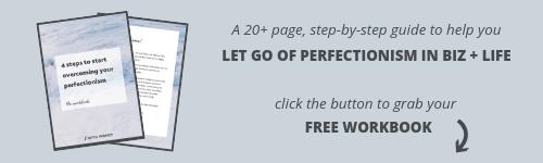 Ditch Perfect workbook