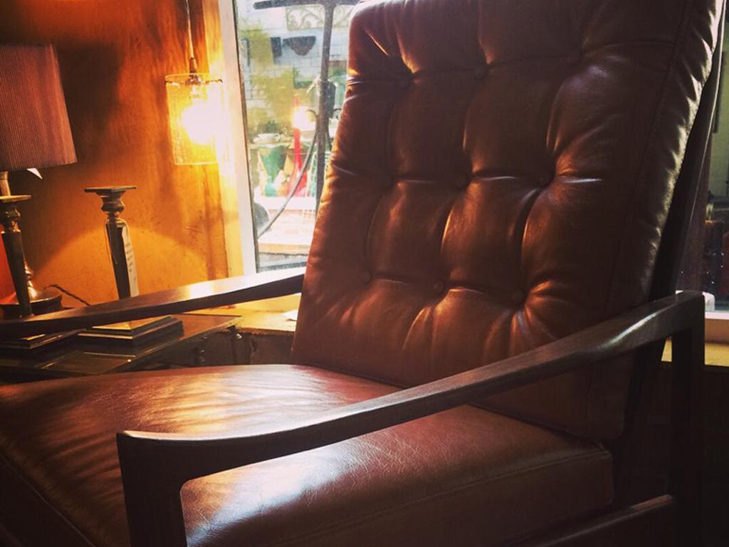 1960s Nils Eilersen restored lounge chair.. Denmark.