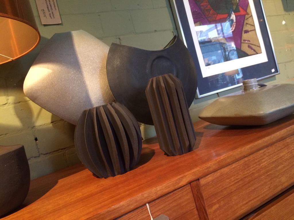 Contemporary ceramics. Andrew Walker, Sheffield.