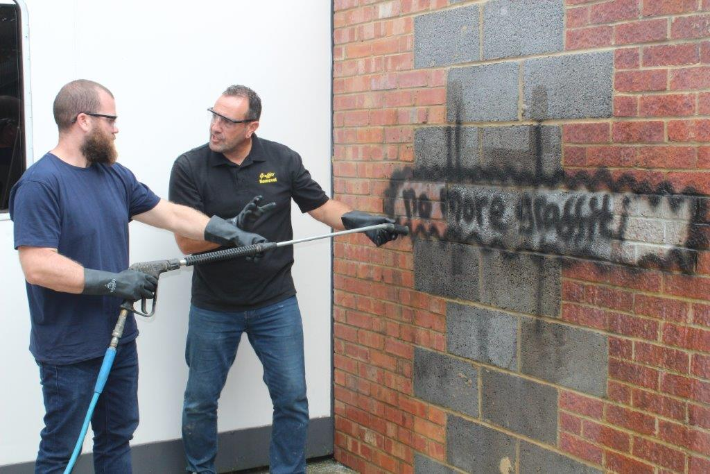 Learn how to remove graffiti from all surfaces on one of our training days   Graffiti Removal Training    View Courses
