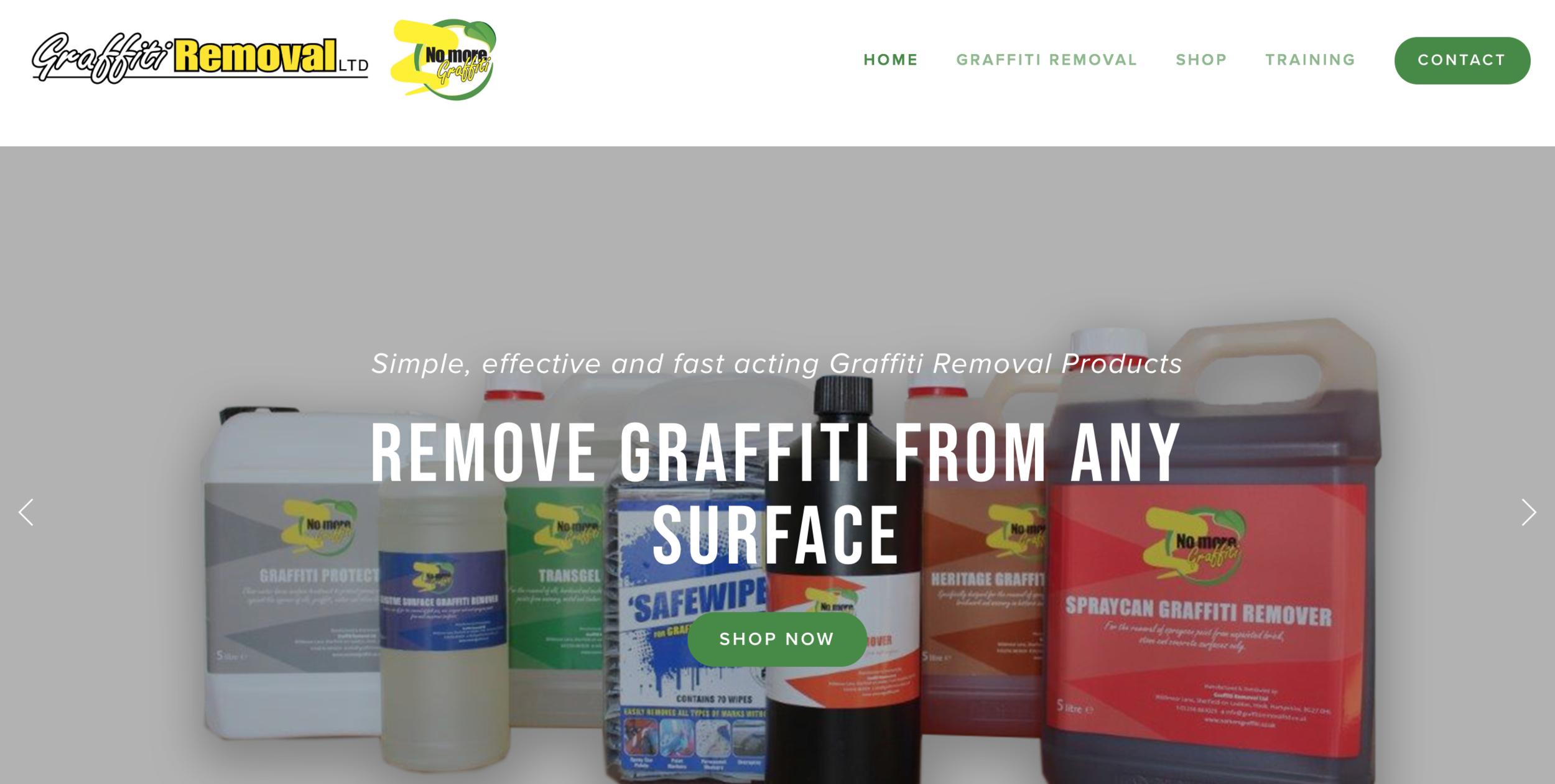 graffiti removal ltd website