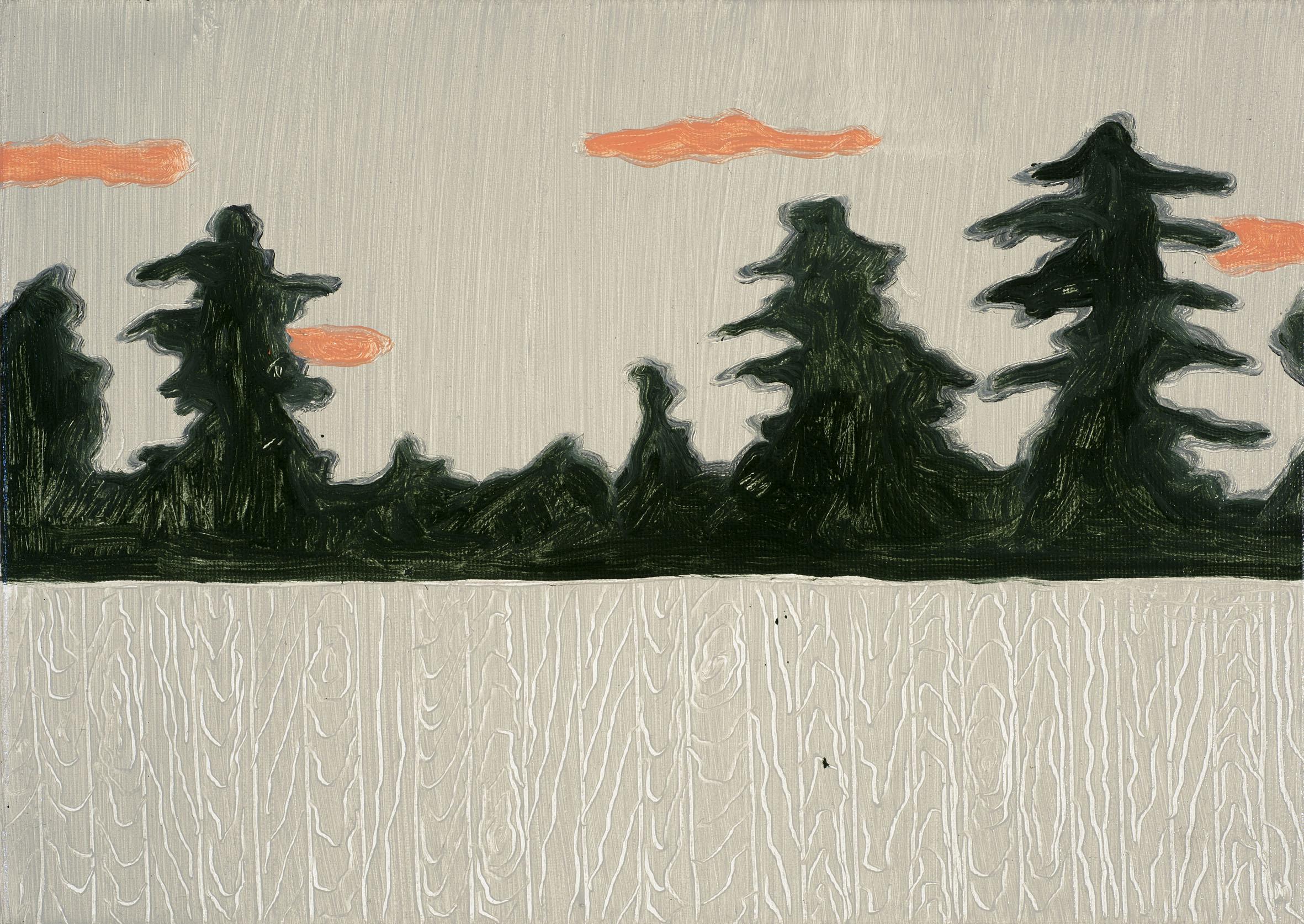 Sunday (II), 2018, 35x25 cm, Oil on canvas.jpg