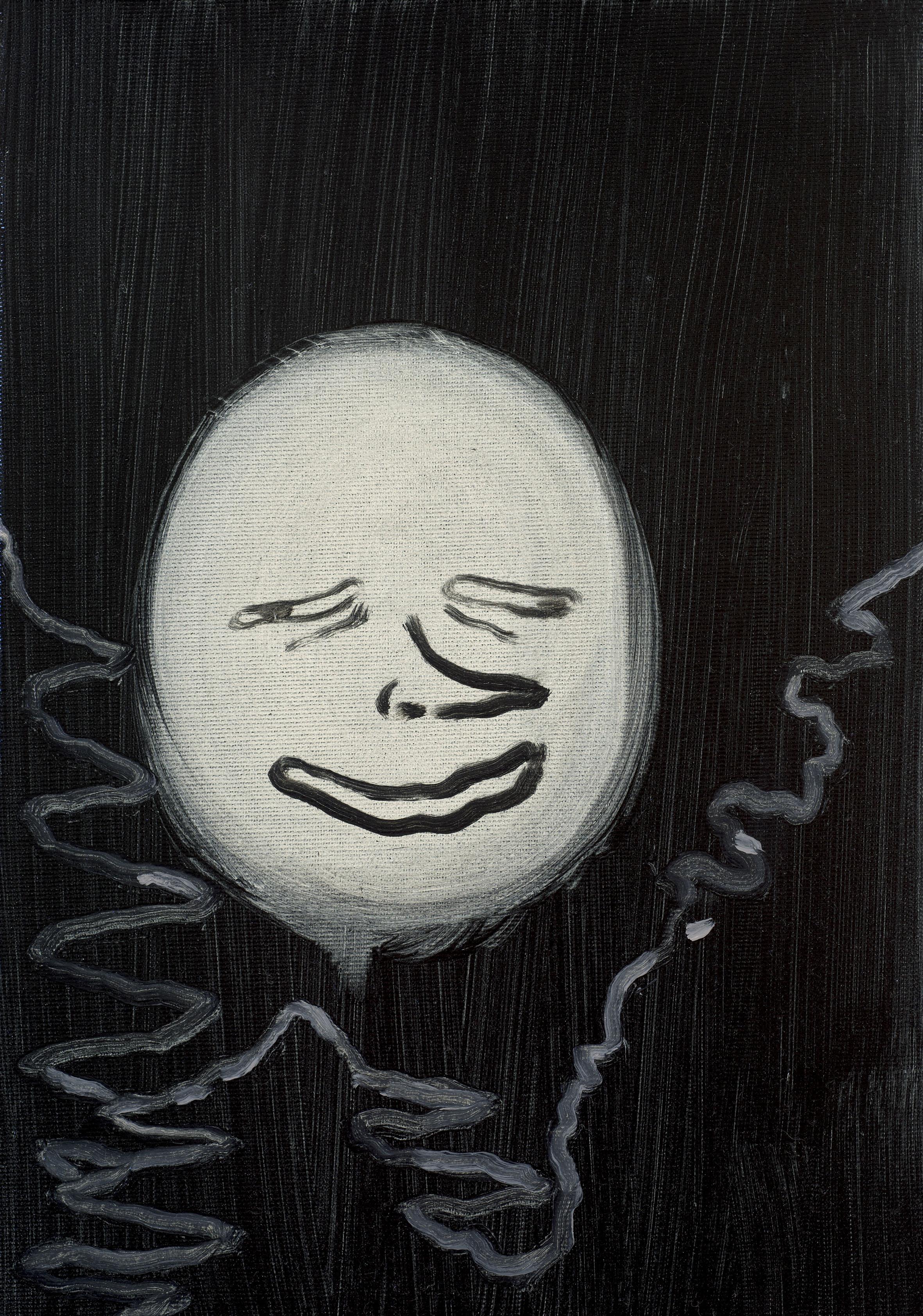 Moon, 2018, 35x25 cm, Oil on canvas.jpg