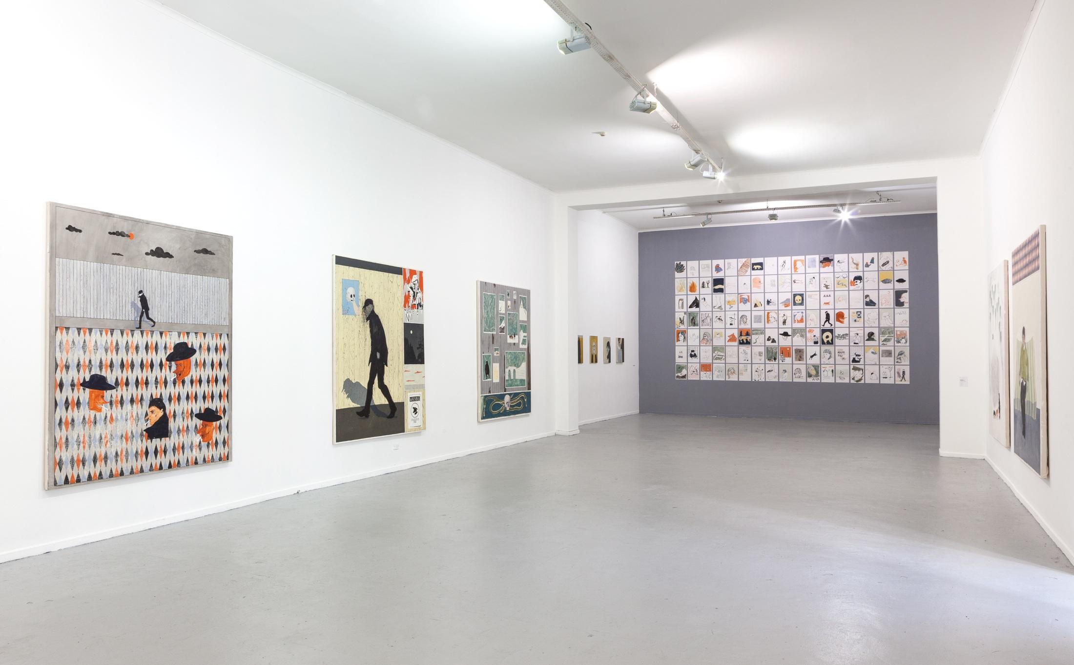 Installation view:  UTOPIAS Y DESVELOS , Museum of Contemporary Art (MAC), Santiago, 2018
