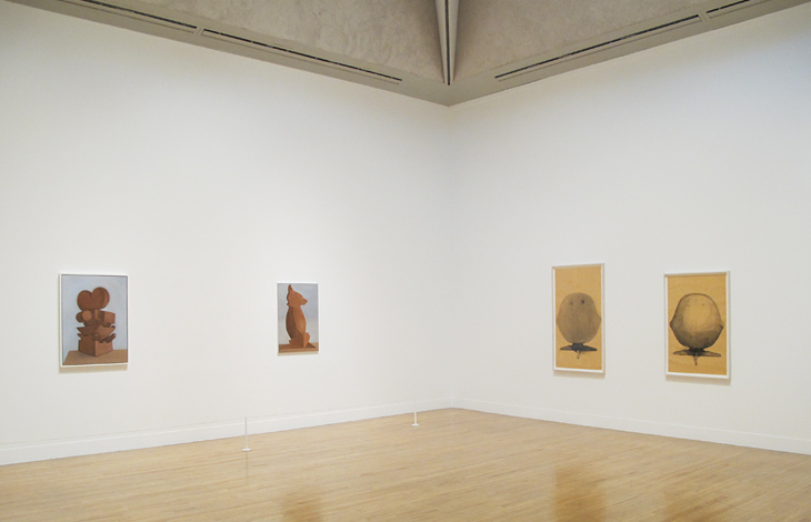 Installation view:  Painting Now, Five Contemporary Artists,  Tate Britain, 2013