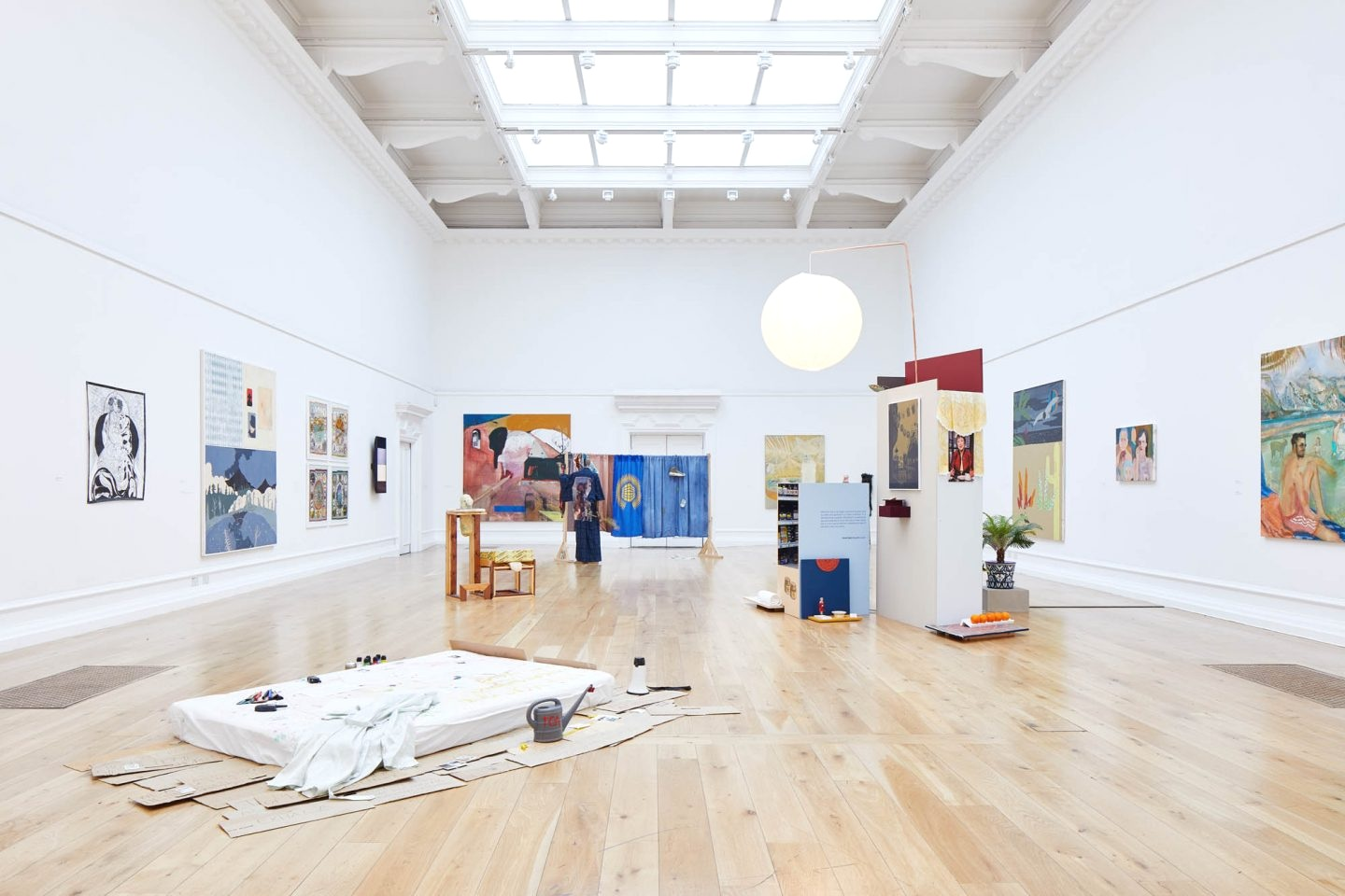 Installation view: Bloomberg New Contemporaries, South London Gallery, 2018