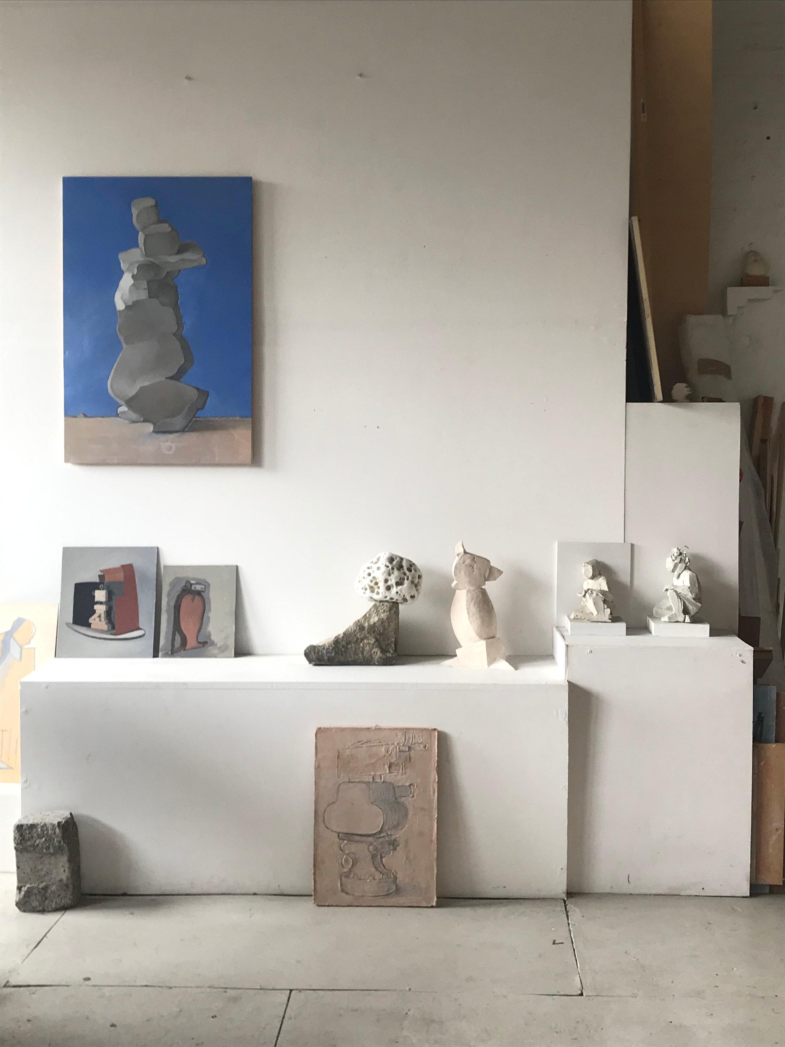 Studio view, 2019
