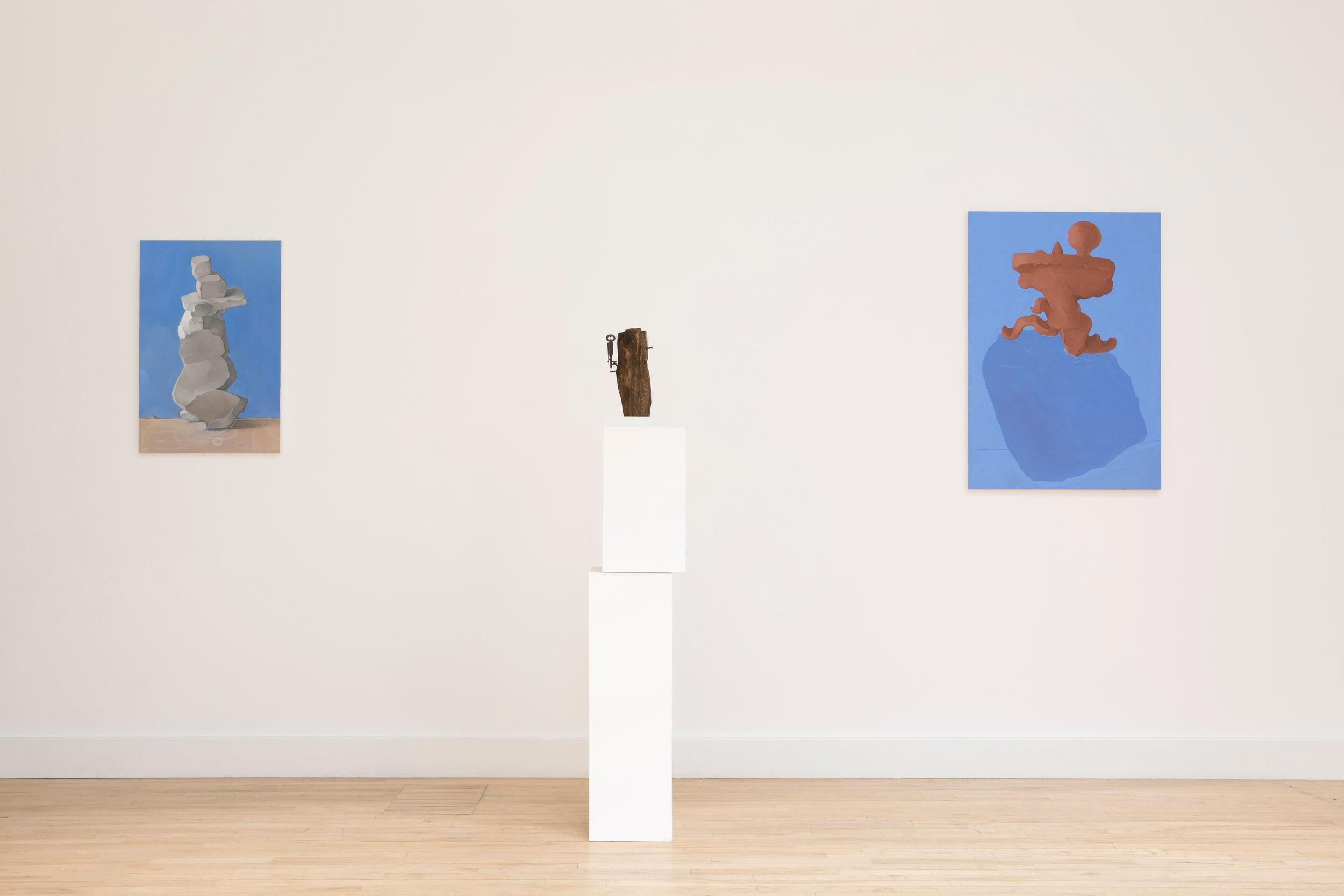 Installation view: Catherine Story, 'Pasquino,' photograph courtesy James Champion