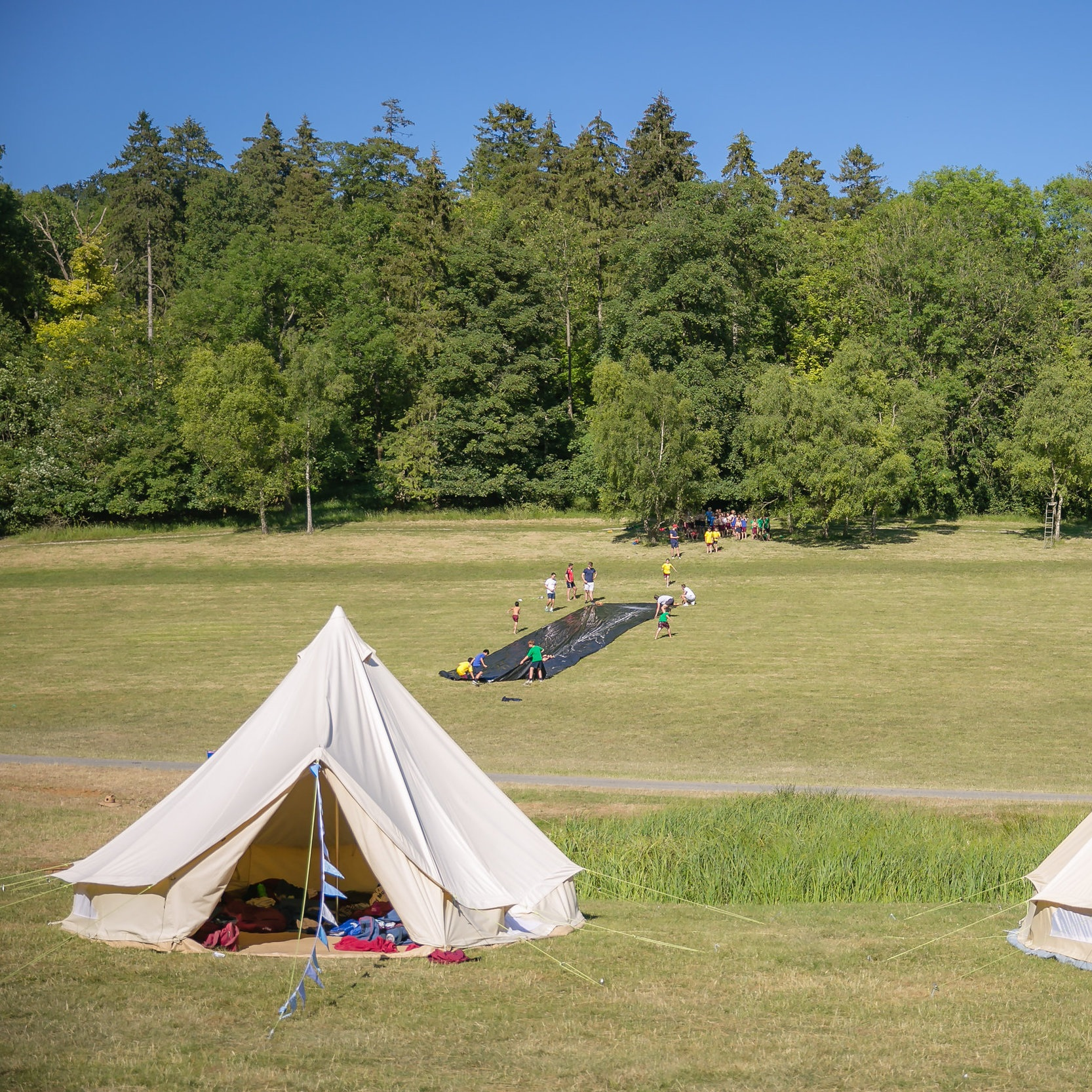 Oppidan Camps at The Woodhall Estate, Hertfordshire