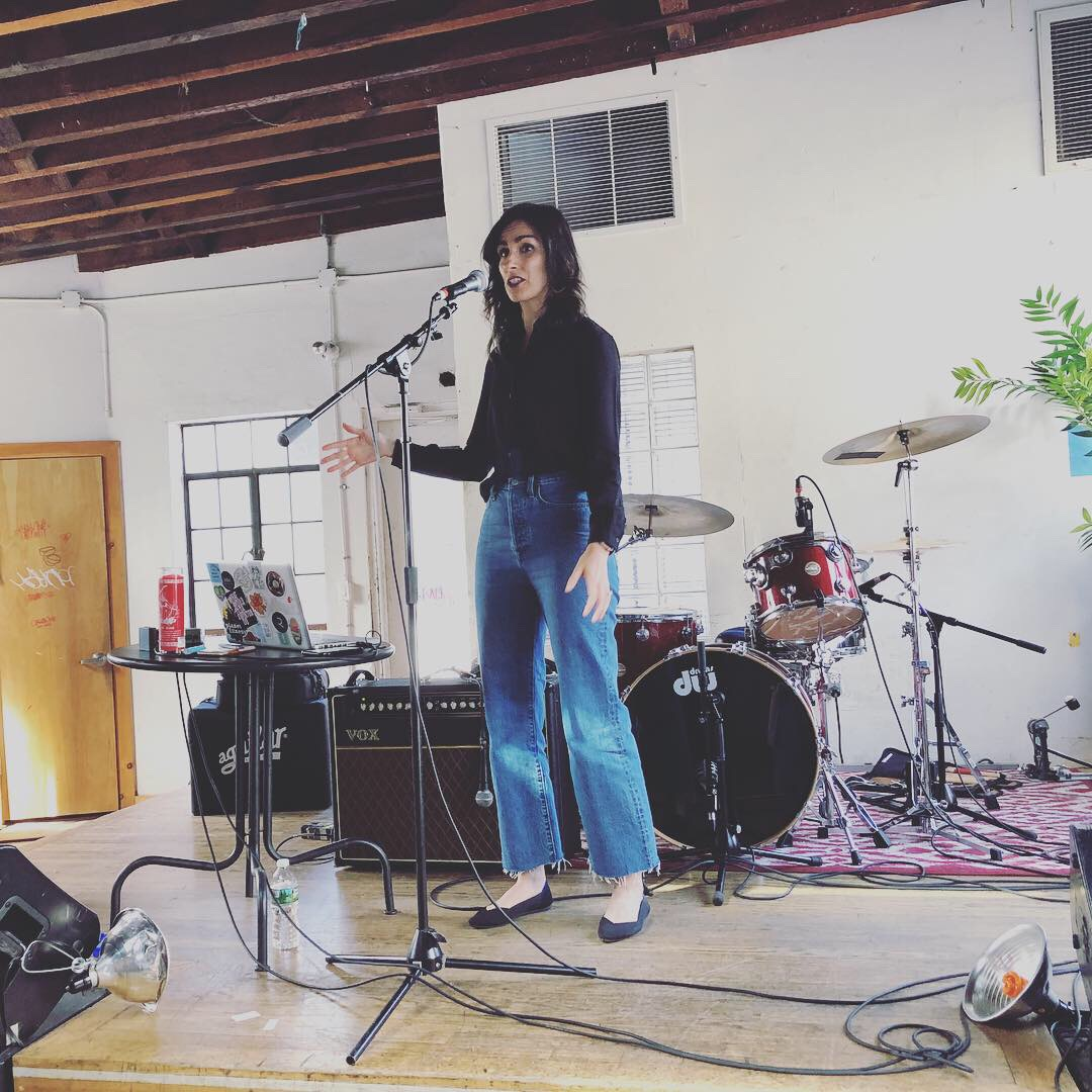 Wearing Aritzia's wide-leg Farrah jeans