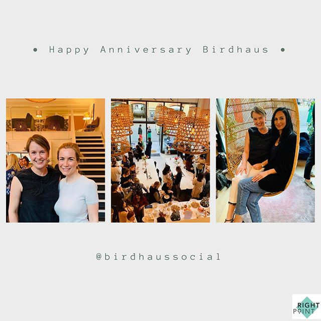 Loved being a part of the anniversary celebration of Birdhaus yesterday evening 🥂 Wonderful group of amazing women. Thank you @birdhaussocial & @ana_just_ana15