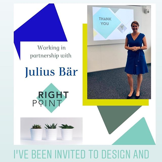 Delighted to announce my latest corporate partnership @bankjuliusbaer. Honoured to be asked to design and deliver key trainings and workshops like 'How to be the BEST Mentor'#corporatetraining #mentoring #corporatecoach #workshops #womeninbusiness #grateful #makingadifference #business #banking