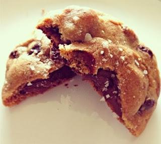 Nutella Sea Salt Cookie
