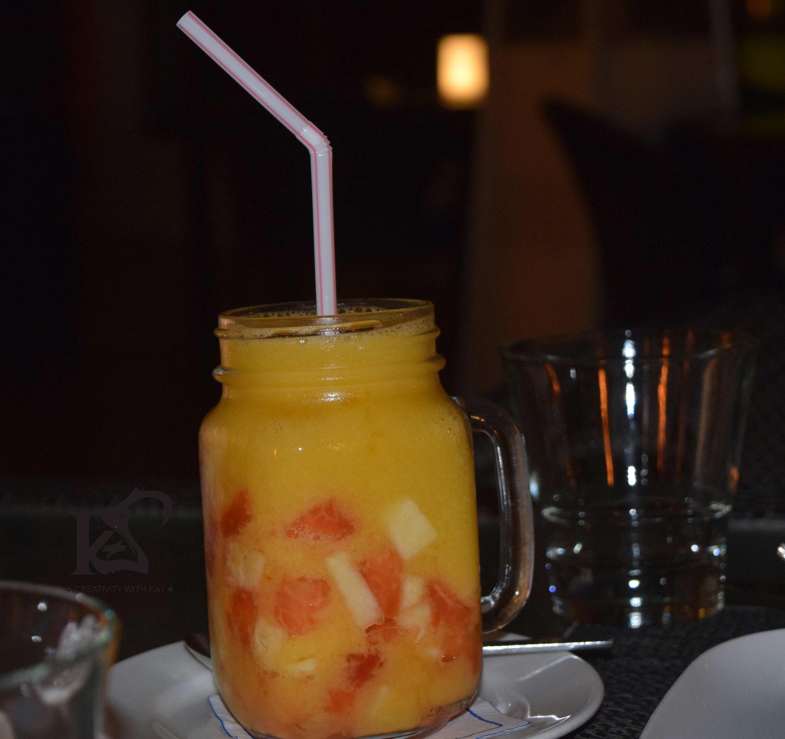 Mango Lebanese Mocktail