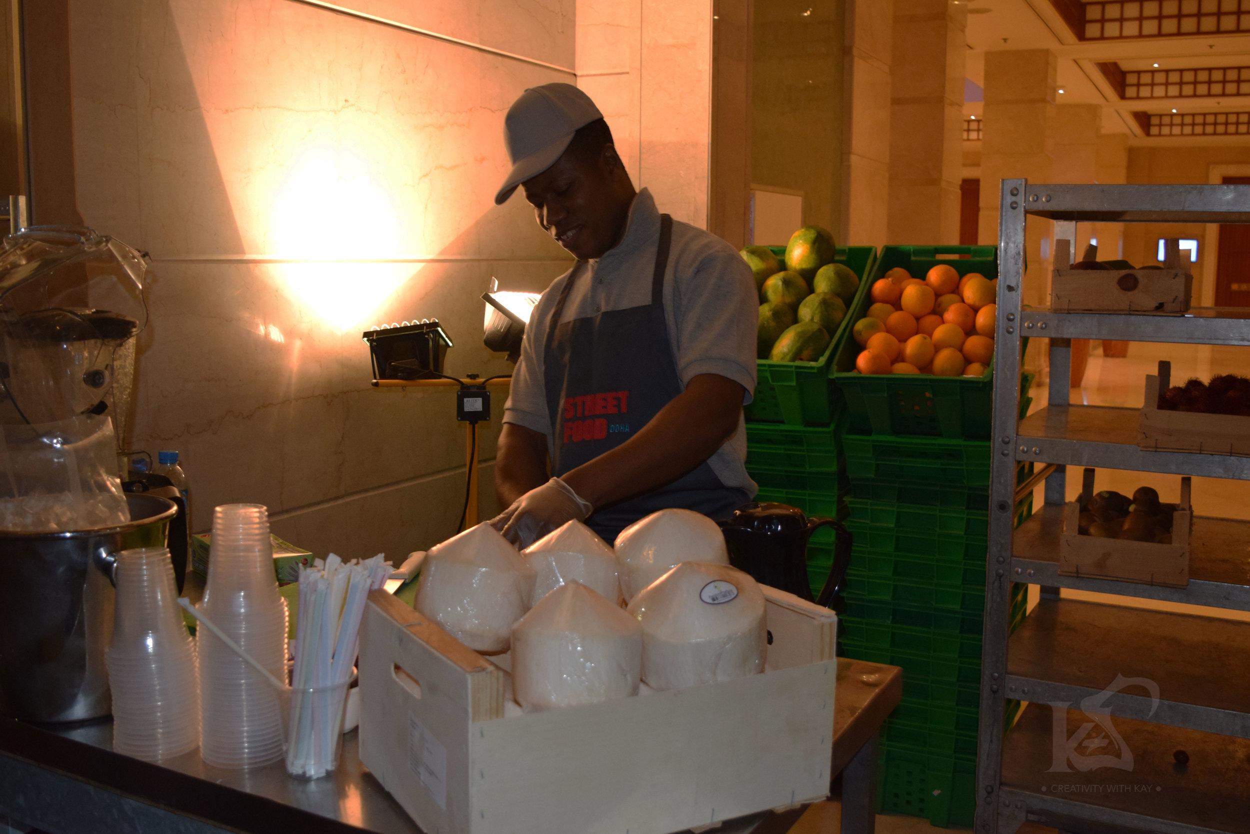 street-food-coconut-water-marriott