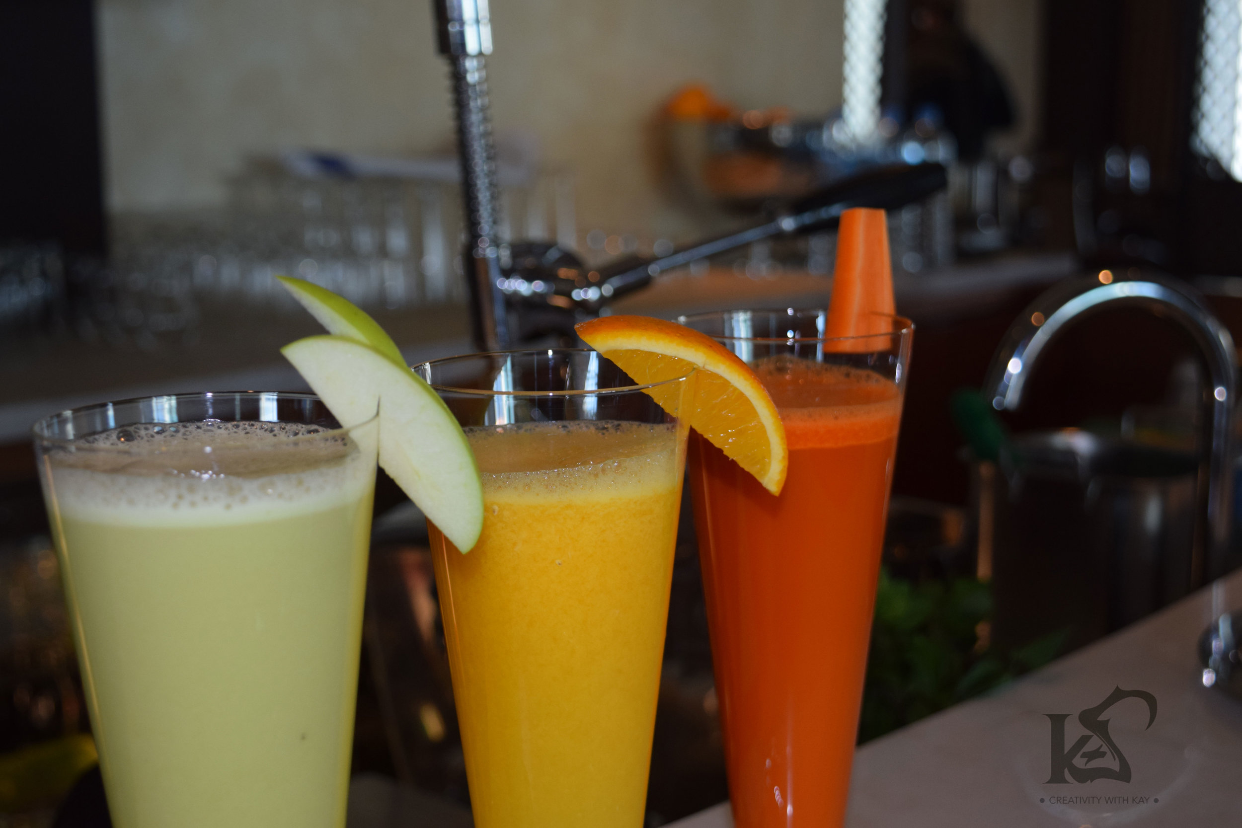 Healthy & Fresh juices - so yum!