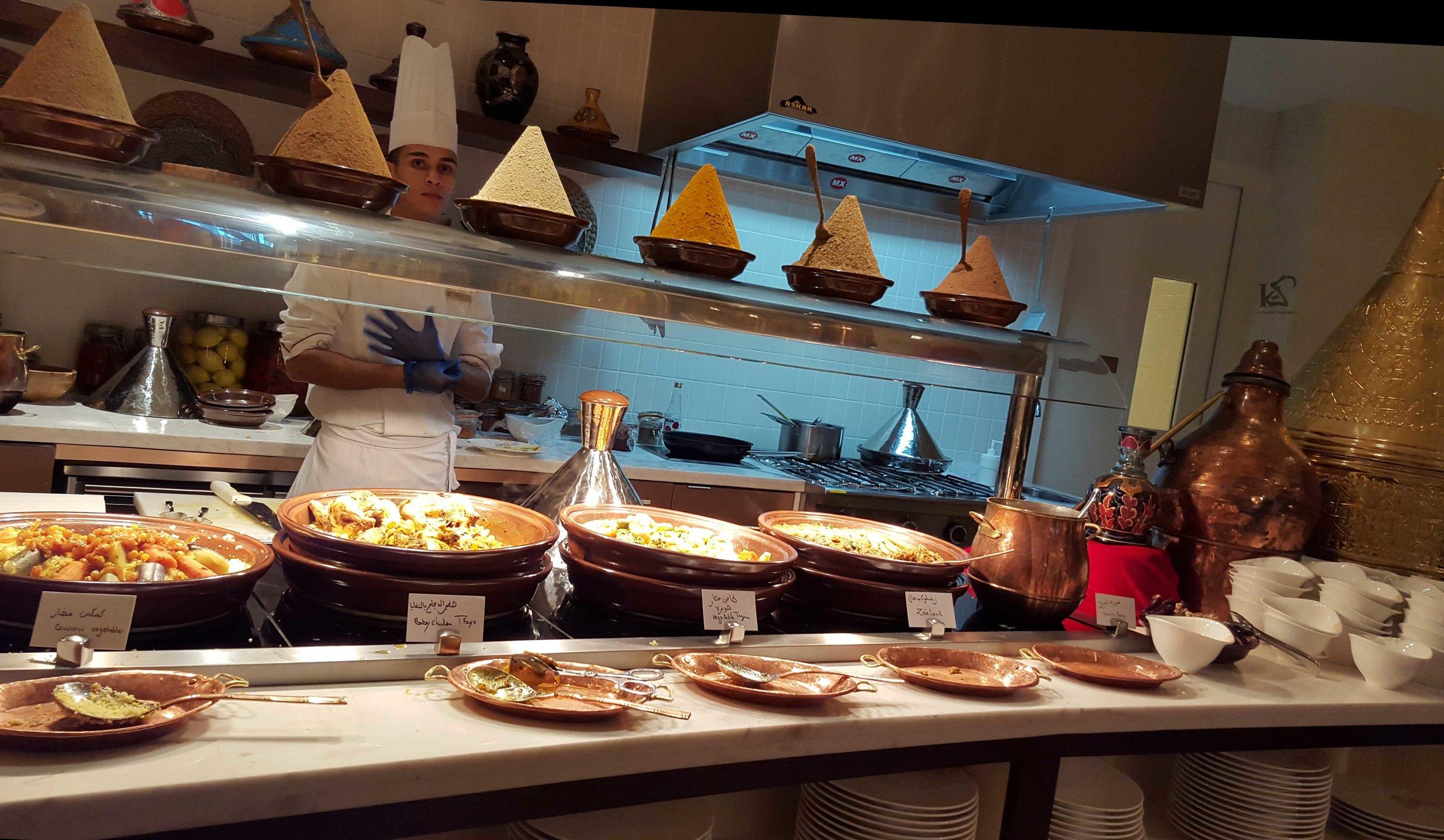 Moroccan Food Station