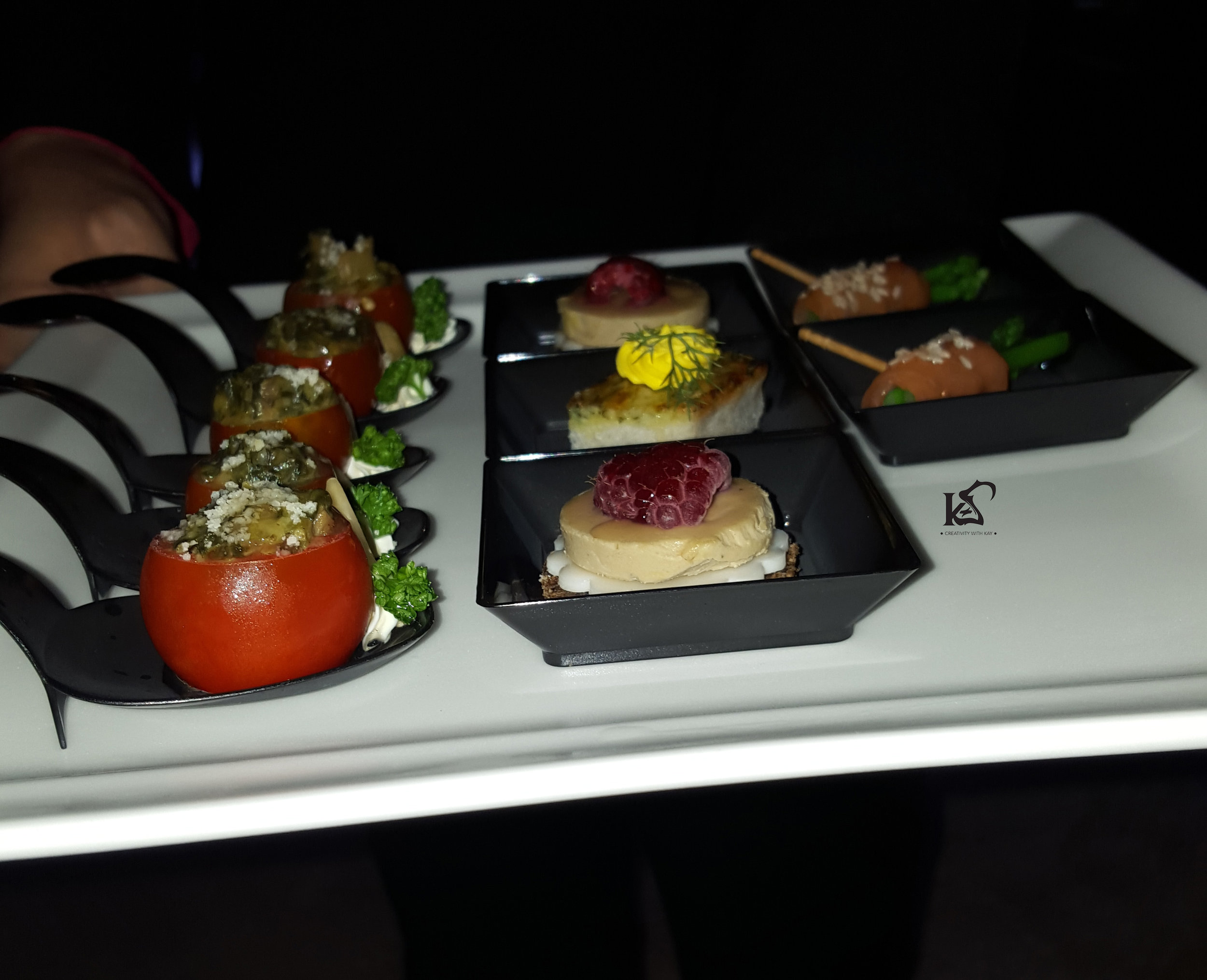 dining-in-the-sky-QIFF2016-qatar-airways-finger-food